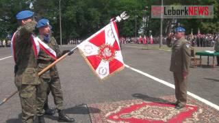 2013 06 15 batalion ze sztandarem wwwleborknewspl