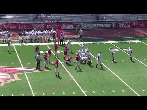 Greater Atlanta Christian School 8th grade football vs Blessed Trinity Titans, 2012