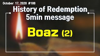 [History of Redemption] 5min m…