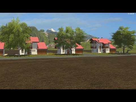 Farming simulator 17 building a neighborhood