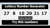 Create an Excel Lottery Number Generator - YouTube