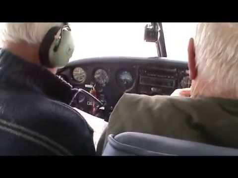 Piper Cherokee Flight from RAF Cranwell to Kirkbride