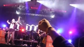 Down - Phil Anselmo on drums/Ole Ole Ole/Stone The Crow (Tokaj, Hungary 2013.06.27.)