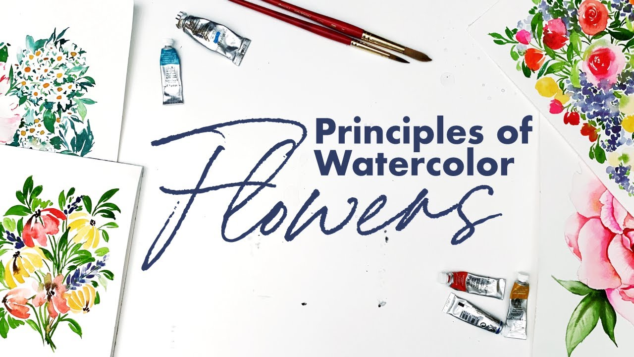 FIVE Floral Watercolor Principles That Help You Master Every Flower!