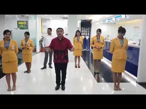 Goyang Maju Mundur Putar Kiri Kanan By Bank Mandiri KC Atambua