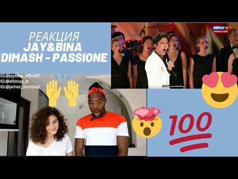Dimash Kudaibergen РЕАКЦИЯ Jay&Bina - Passione