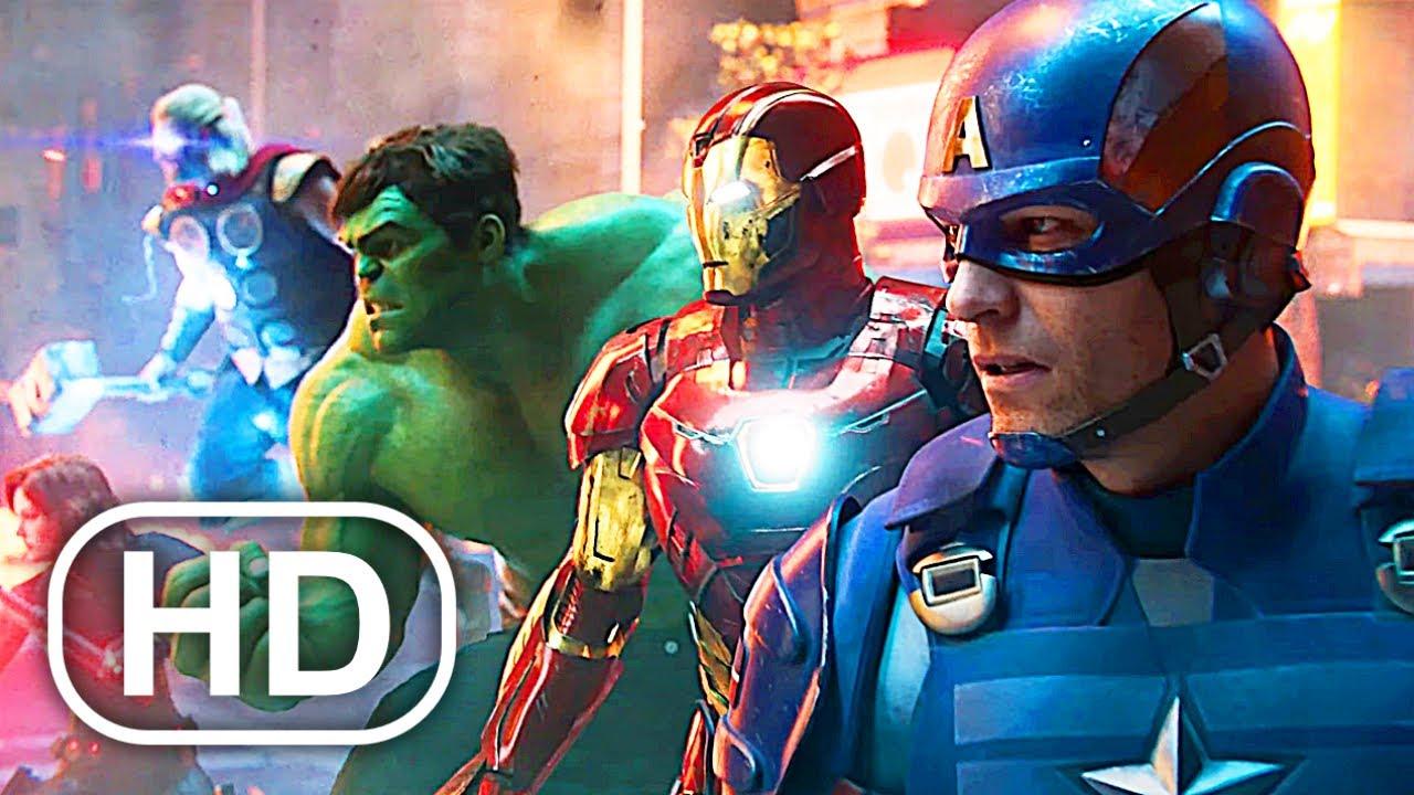 Download Marvel's Avengers Full Movie Cinematic (2020) 4K ULTRA HD Superhero All Cinematics
