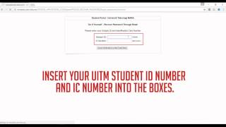 How To Login To I Learn Uitm Student Portal Uitm For The First Time