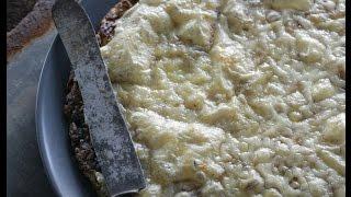 Юлия Высоцкая — Картофельный пирог с сыром