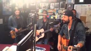 Old Dominion in 104.5 WFMB studios 9/11/15