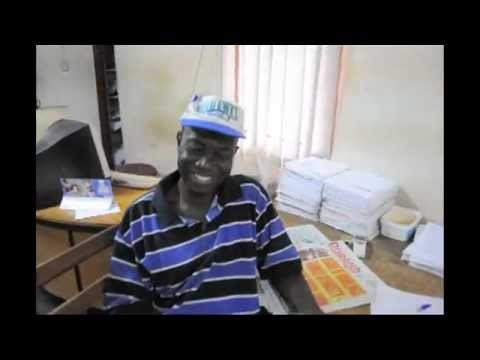 Touring Kapital Radio in Kumasi