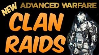 Advanced Warfare الجديدة ''عشيرة غارات'' على توازن جديد مجموعة الزي (COD AW عشيرة)