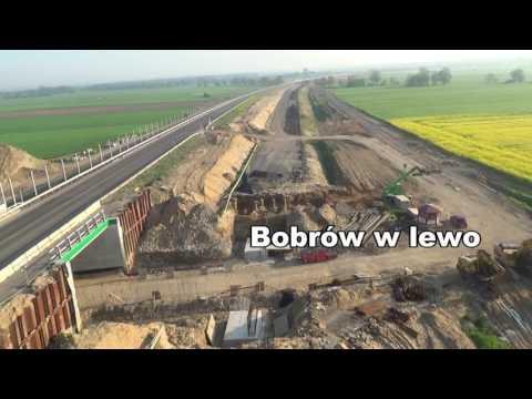 Legnica Lubin S3 w budowie 14.05.2017