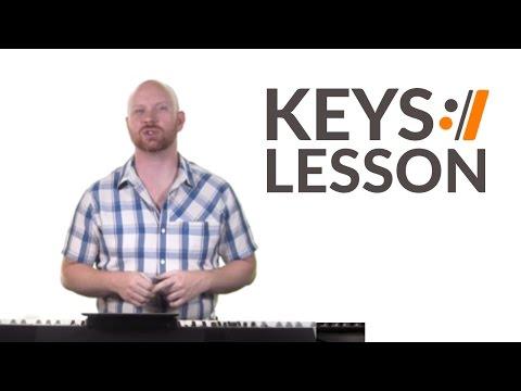 I Lift My Hands - Chris Tomlin // Keys Tutorial
