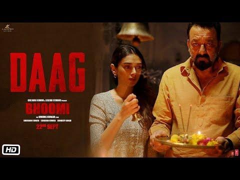 Bhoomi: Daag Video Song | Sanjay Dutt, Aditi Rao Hydari | Sukhwinder Singh | Sachin - Jigar