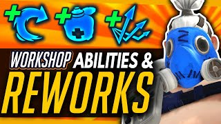 Overwatch | Amazing Ability Reworks (Fanmade) - Workshop Changes For Reinhardt, Reaper & More