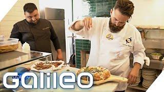 Pizza mit Wolken-Teig: Der Bruch mit der italienischen Tradition | Galileo | ProSieben