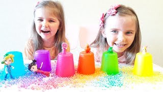 Funny Baby Surprise toys Unboxing  Learn Colors for kids with Colored Cups