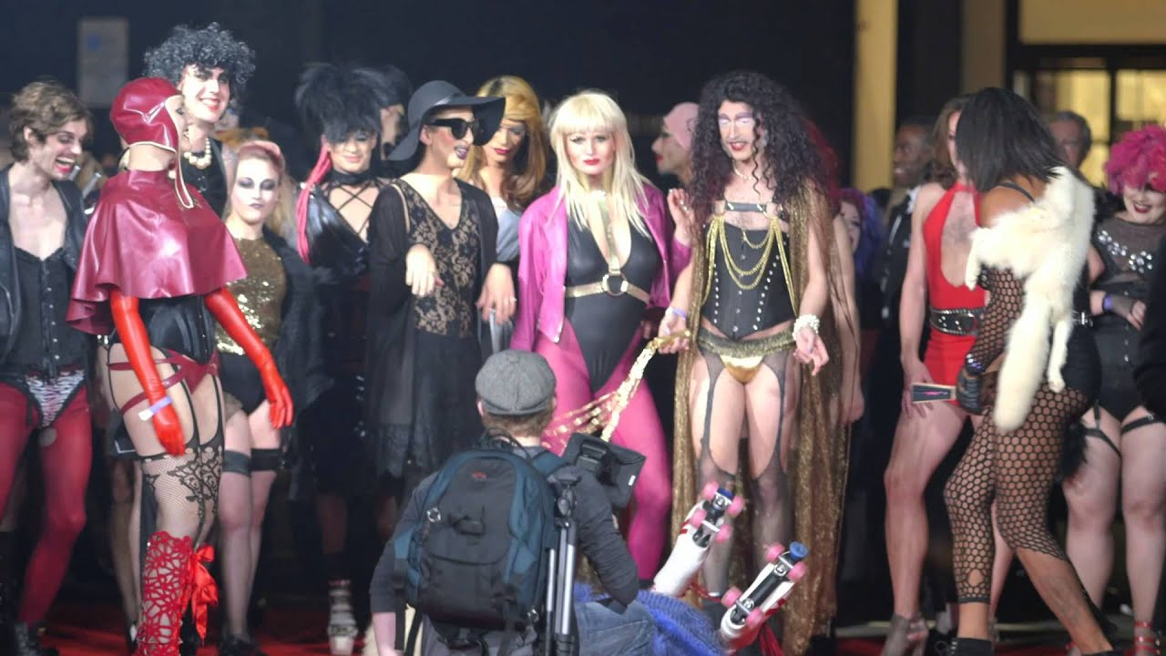 the rocky horror picture show 40th anniversary party