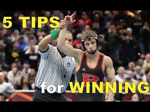 5 Tips For Winning Wrestling Matches