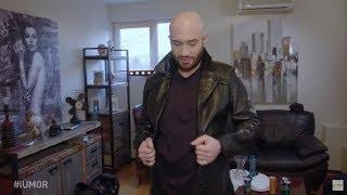 Mihai Bendeac a venit la iUmor imbracat cu haina bunicului sau Are 50 de ani