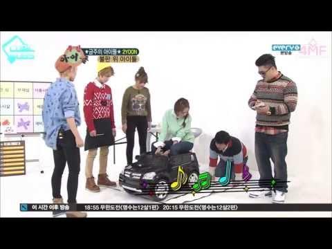 [4MFSUBS+CUBICSUBS] 130130 Weekly Idol - 2YOON, Sohyun & Ilhoon