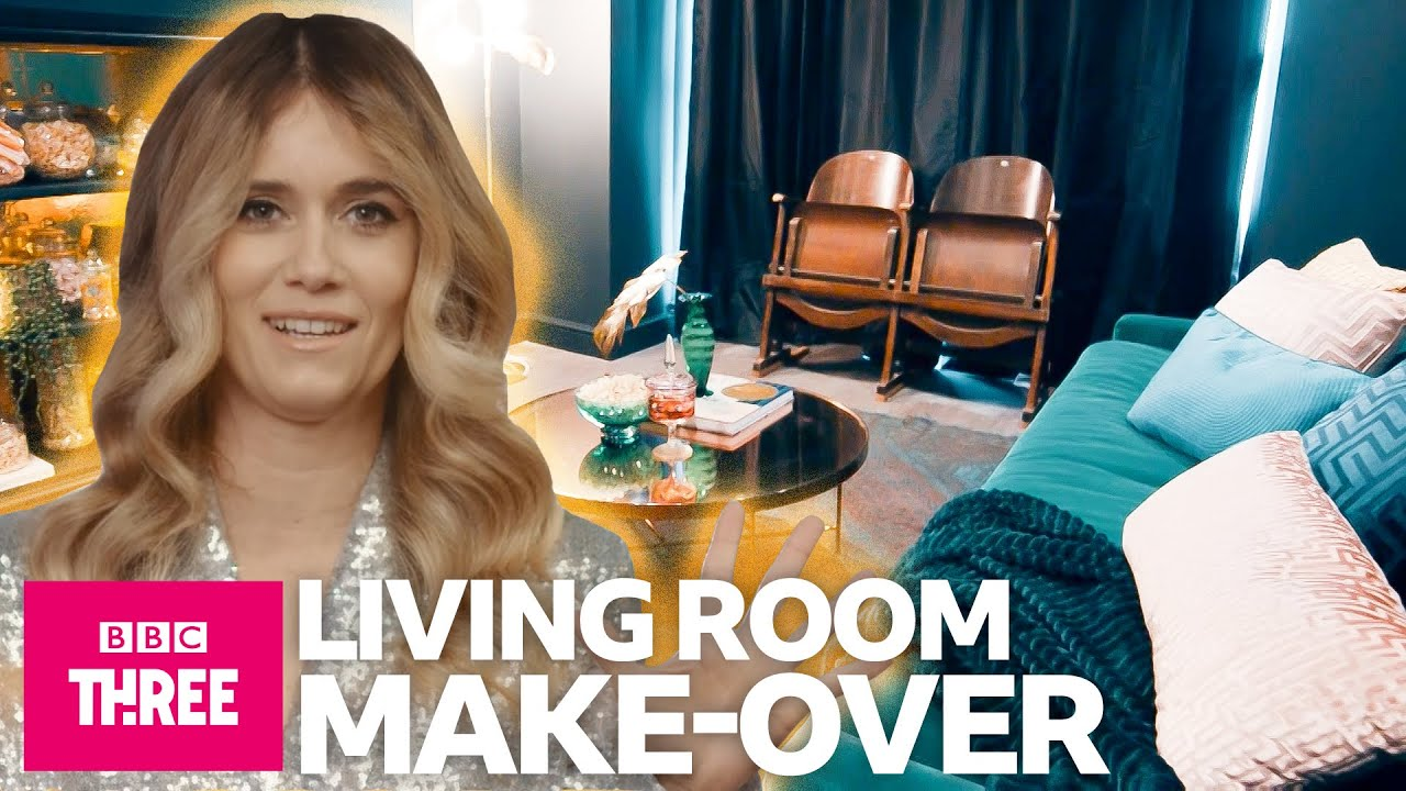 Living Room Makeover On A Budget | Flat Out Fabulous | BBC Three