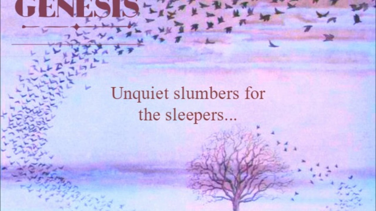 Image result for genesis band pictures  Unquiet Slumbers for the Sleepers in That Quiet Earth