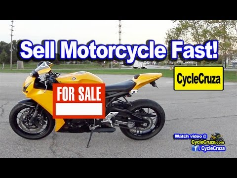 How To Sell Motorcycle Fast and NOT Get Robbed | MotoVlog