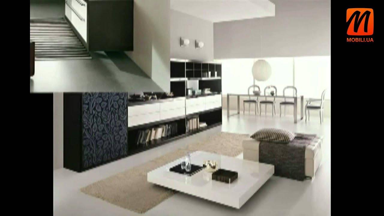дизайн интерьера спальни гостиной модерн современная мебель в