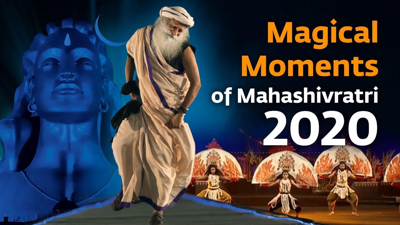 Magical Moments at Mahashivratri 2020 @ Isha Yoga Center