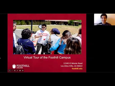 Foothill College Virtual Campus Tour