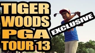 Baby Tiger - Tiger Woods PGA TOUR 13 Exclusive Gameplay