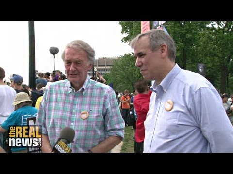 Sen. Edward J. Markey and Sen. Jeff Merkley: People's Climate March