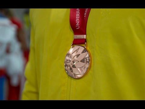 Andrius Gudžius Universiadoje iškovojo bronzos medalį
