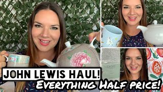 John Lewis Haul | Half Price Sale | Pip Studio | Homeware Haul | Kate McCabe