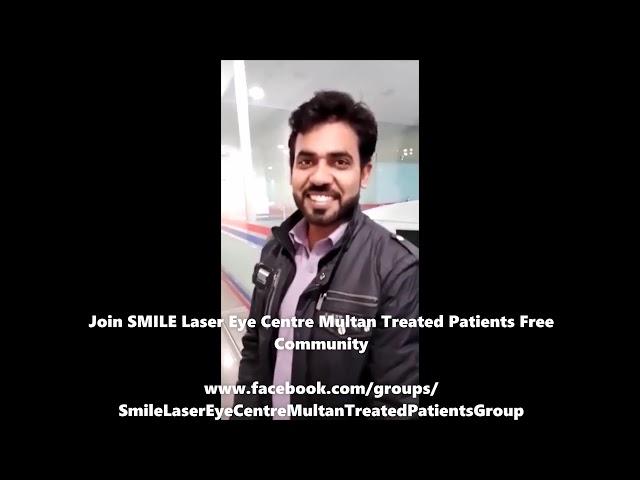 Khurram Shahzad Zeiss ASA TransPRK Review at Smile Laser Eye Centre Multan