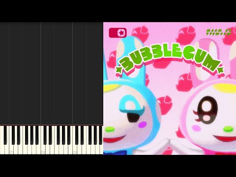 K K Slider Bubblegum K K Live Synthesia Youtube