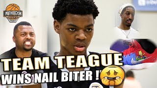 8th Grade Team Teague WINS NAIL BITER Against TOUGH Team Swoop Elite Squad At NYBL