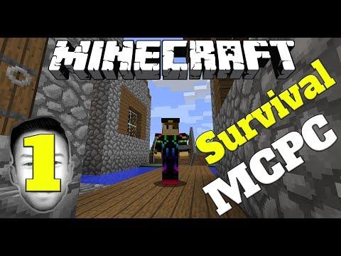 SURVIVAL MCPC DIMULAI !!! - Minecraft Survival Indonesia (1)