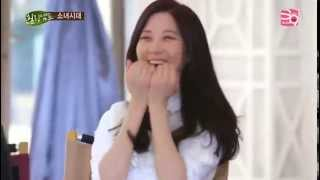 Straight-forward Seohyun got scolded by host