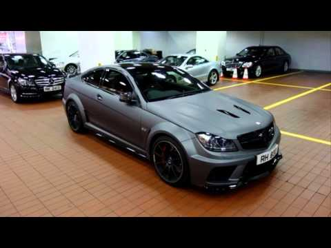 mercedes benz c63 amg black series price youtube