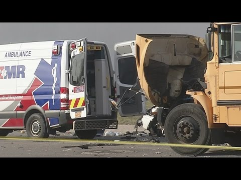 Police investigating South Buffalo crash involving school bus