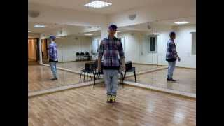 Урок 4 - База - House шаги,ритмика.flv