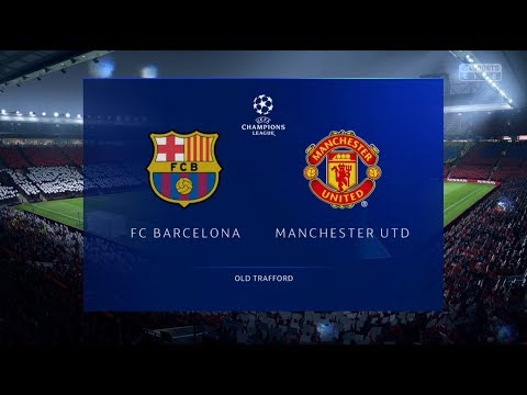 Fifa 19 Barcelona V Manchester United Xbox One / PS4 Full Match Gameplay