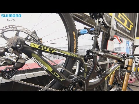 Gee Atherton about his Saint & PRO equipped GT!