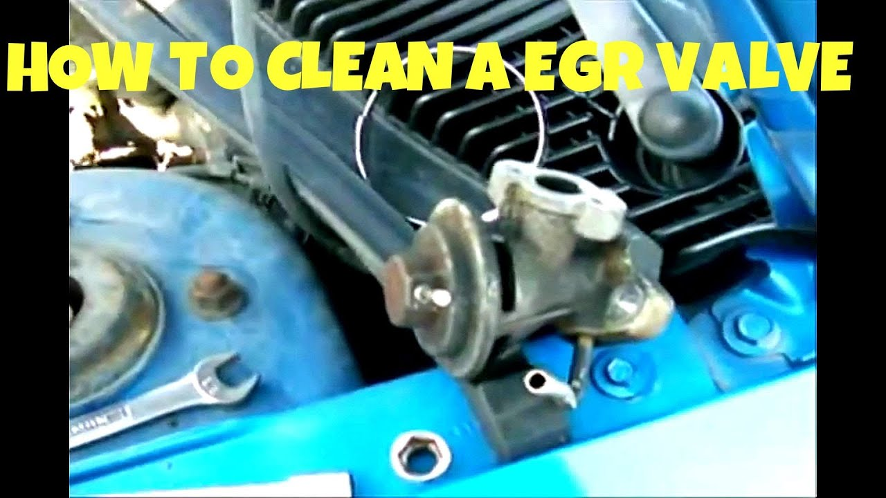 how to clean an egr valve how to clean an egr valve