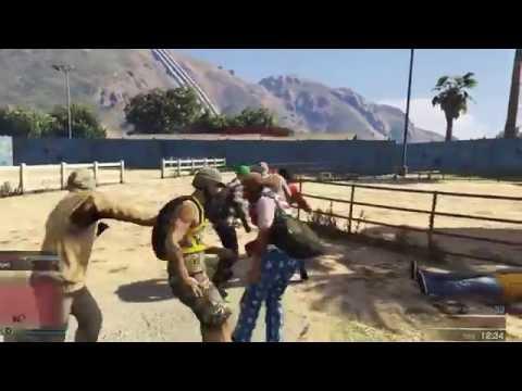 GTA5 funny Deathmatch PvP Level 260!!!