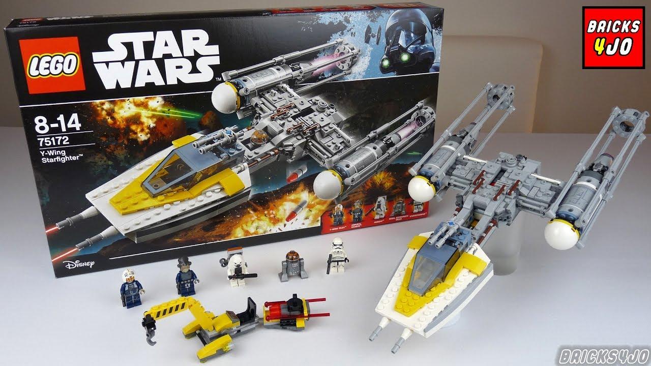 Lego 75172 star wars y wing starfighter review deutsch youtube - Croiseur interstellaire star wars lego ...