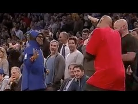 LaVar Ball Comes Face to Face with Spike Lee!
